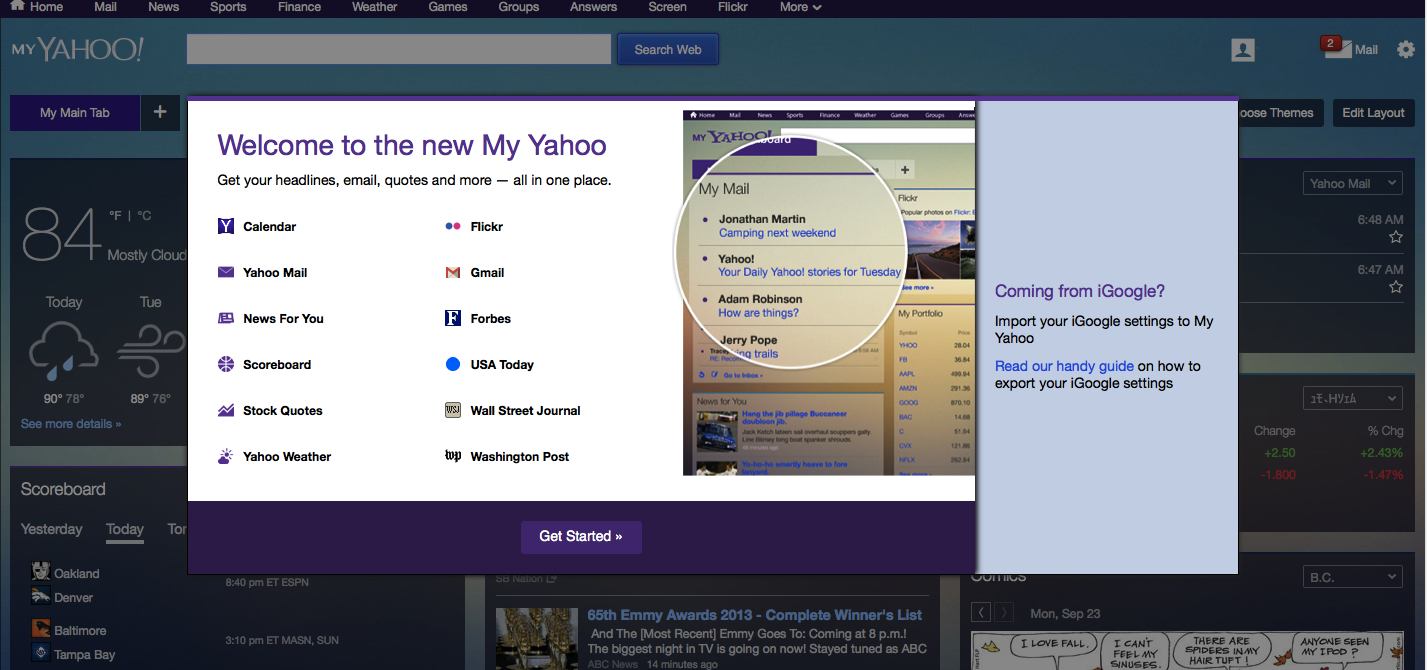 my yahoo user guide