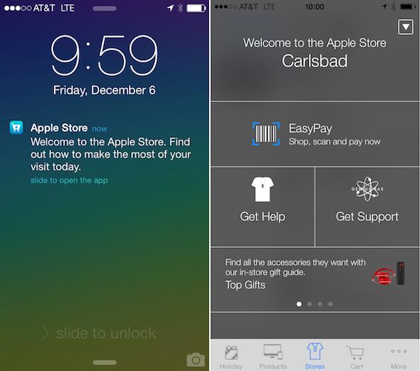 Apple-Store-iBeacon-notification